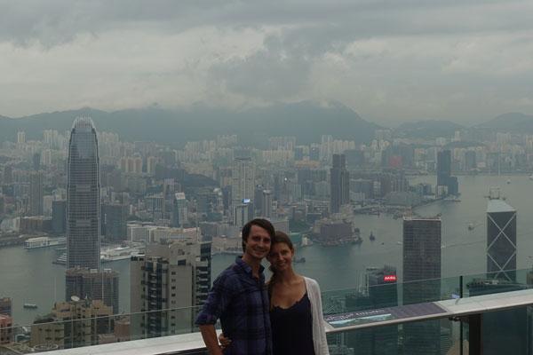 Hongkong Sehenswürdigkeiten Hongkong Island Victoria Peak