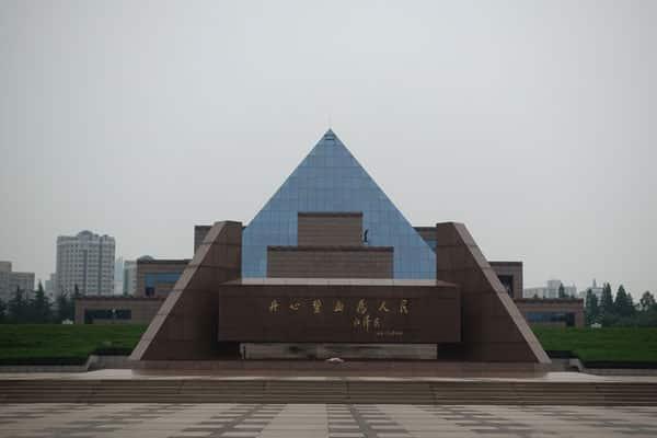 Shanghai Sehenswürdigkeiten Longhua Revolutionary Martyrs Cemetry