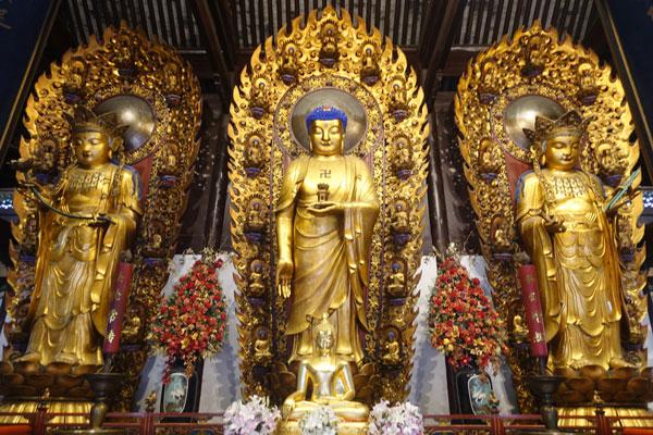 Shanghai Sehenswürdigkeiten Longhua Tempel
