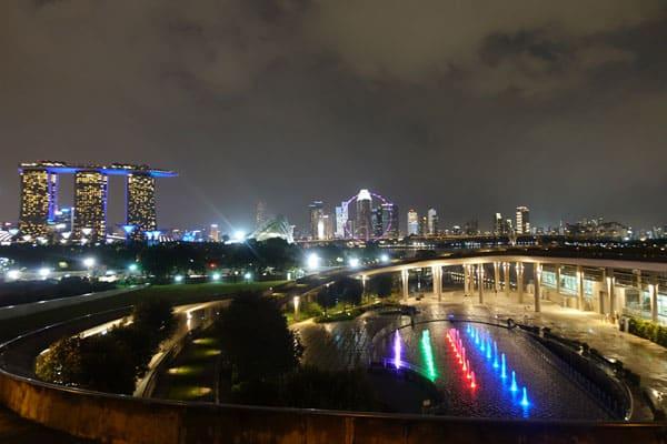 Singapur Sehenswürdigkeiten Marina Bay Marina Barrage