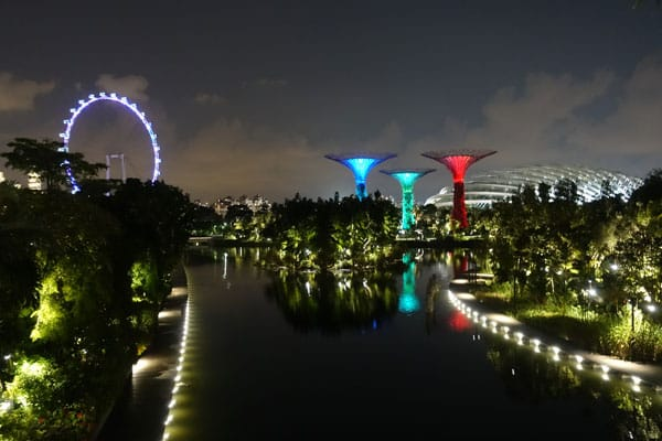 Singapur Sehenswürdigkeiten Stadtbild