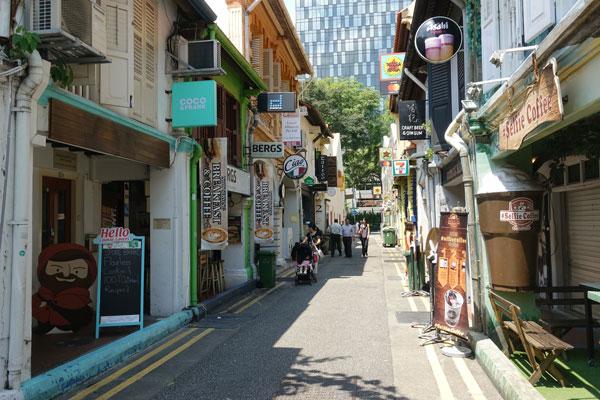 Singapur Sehenswürdigkeiten arabisches Viertel