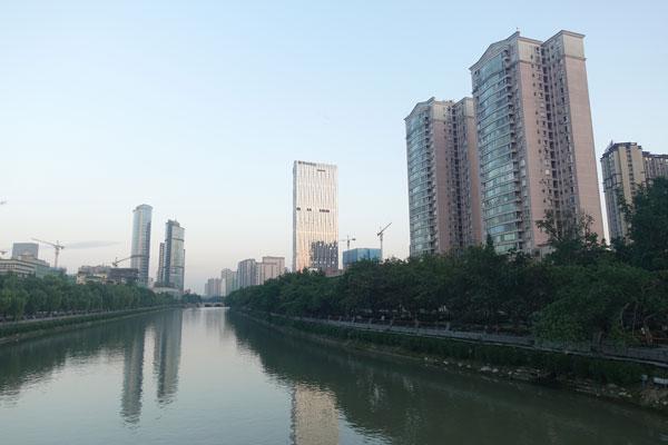 Chengdu Stadtbild