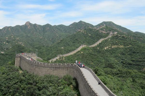 Chinesische Mauer Badaling Peking