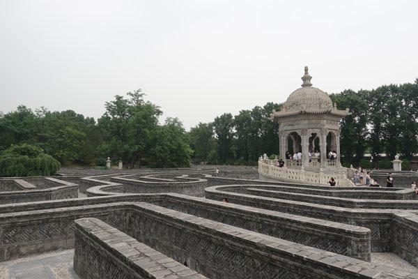 Peking Sehenswürdigkeiten Alter Sommerpalast