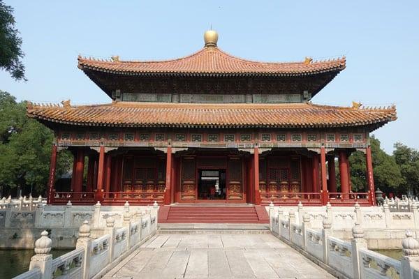 Peking Sehenswürdigkeiten Konfuzius Tempel