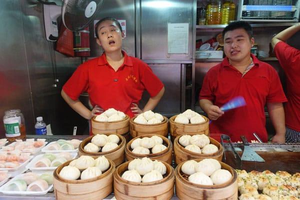 Peking Sehenswürdigkeiten Wangfujing Snackstreet
