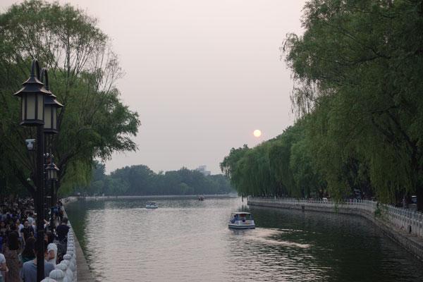 Peking Sehenswürdigkeiten Lotusbazar und Houhai Lake