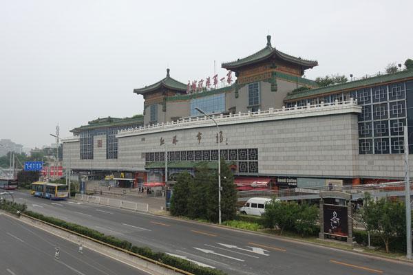 Peking Sehenswürdigkeiten Stadtbild