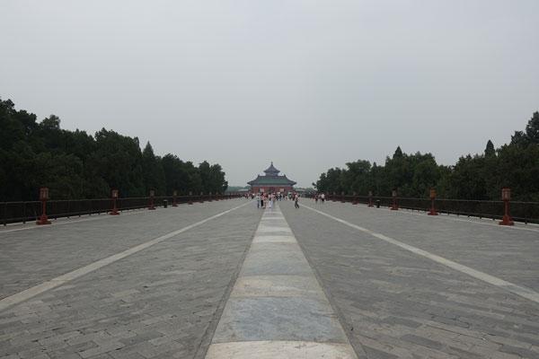 Peking Sehenswürdigkeiten Temple of Heaven Himmelstempel