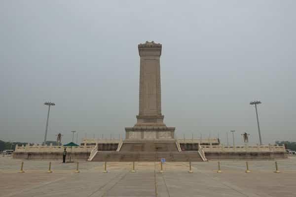 Peking Sehenswürdigkeiten Tiananmen Platz