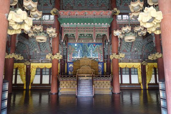 Seoul Sehenswürdigkeiten Changgyeoggung Palace
