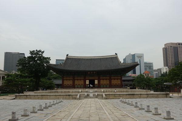 Seoul Sehenswürdigkeiten Deoksungung Palace