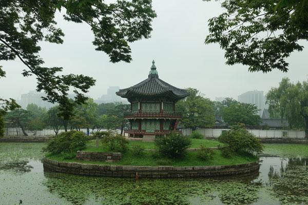 Seoul Sehenswürdigkeiten Gyeongbokgung Palace