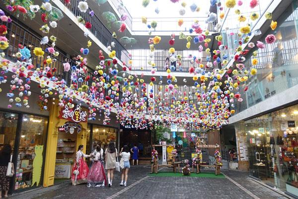 Seoul Sehenswürdigkeiten Insa Dong Street