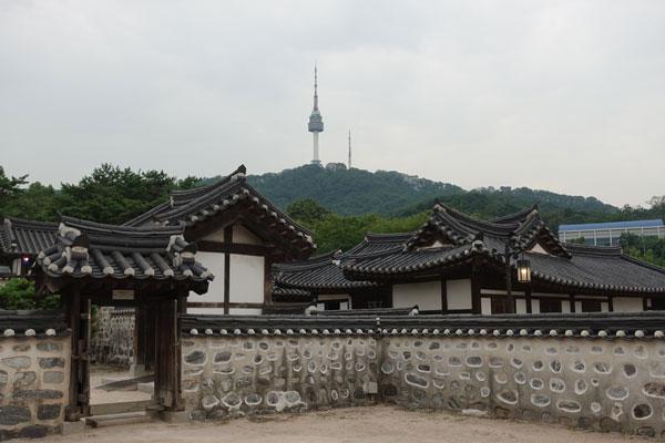 Seoul Sehenswürdigkeiten Namsangol Hanok Village