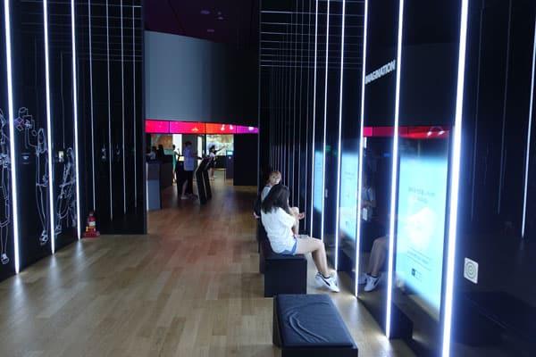 Seoul Sehenswürdigkeiten Stadtviertel Gangnam Samsung D'light