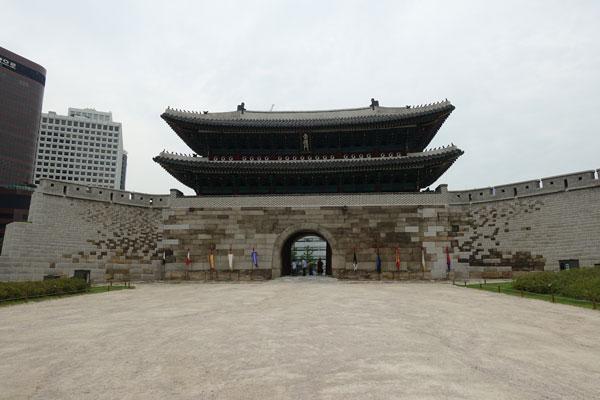 Seoul-Sehenswürdigkeiten-Sungnyemun-Gate