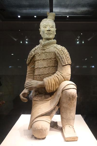 Terrakotta Armee Xian Ausgrabungsstätte Pit 2 Archer Bogenschütze