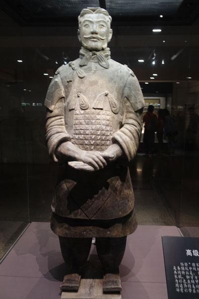 Terrakotta Armee Xian Ausgrabungsstätte Pit 2 hochrangiger Offizier