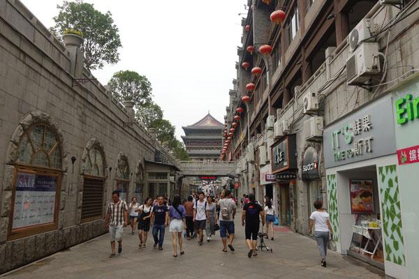 Xian Sehenswürdigkeiten Drum Tower Trommelturm