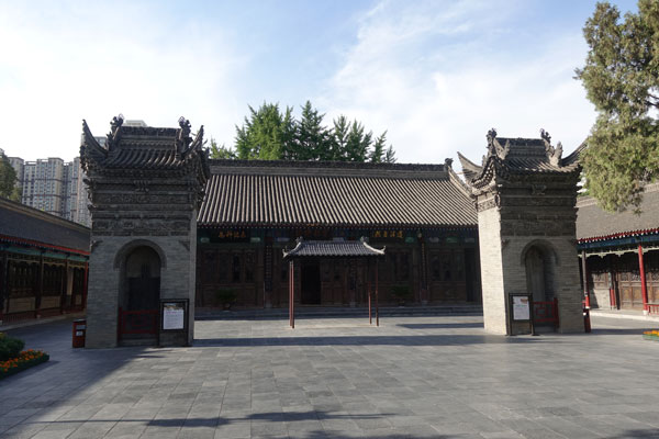 Xian Sehenswürdigkeiten Temple of the Eight Immortals