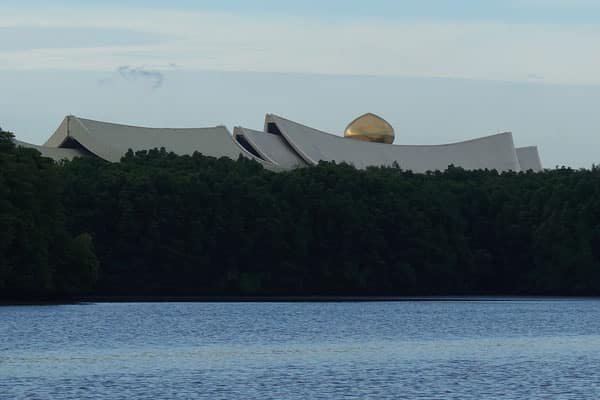 Brunei Sehenswürdigkeiten Bandar Seri Begawan Bootstour Flussfahrt