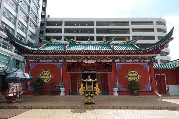 Brunei Sehenswürdigkeiten Bandar Seri Begawan Chinesischer Tempel