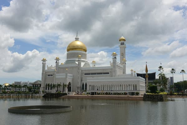 Brunei Sehenswürdigkeiten Bandar Seri Begawan Stadtbild