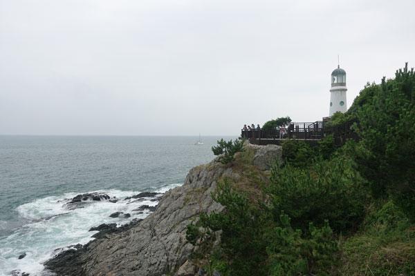 Busan Sehenswürdigkeiten Dongbaek Island