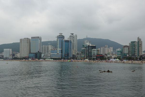 Busan Sehenswürdigkeiten Gwangalli Beach