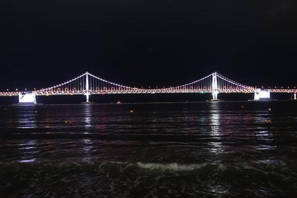 Busan Sehenswürdigkeiten Gwangan Bridge