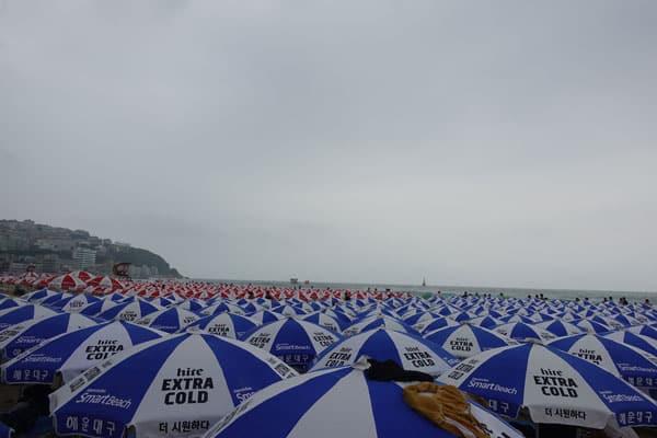 Busan Sehenswürdigkeiten Haeunndae Beach
