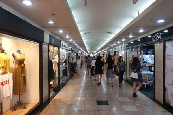 Busan Sehenswürdigkeiten Seomyeon Underground Shopping Center