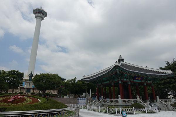 Busan Sehenswürdigkeiten Yeongdusan Park Busan Tower