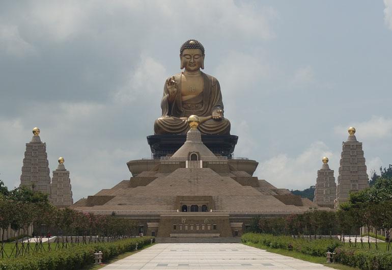 Tagesausflug zum Fo Guang Shan Buddha Museum & Monastery bei Kaohsiung