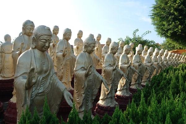 Fo Guang Shan Monastry bei Kaohsiung Great Buddha Land