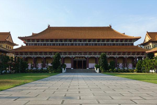 Fo Guang Shan Monastry bei Kaohsiung Main Shrine