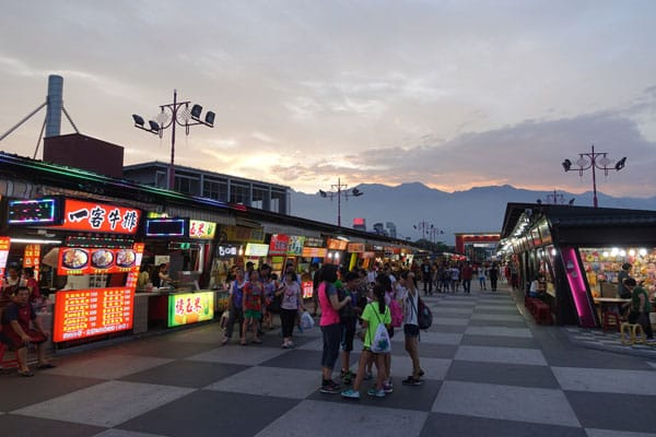 Hualien Taiwan Dongdamen Nightmarket