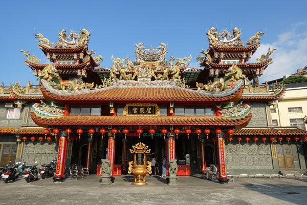 Jiufen Old Street Sheng Ming Gong Tempel Tagesausflug von Taipeh