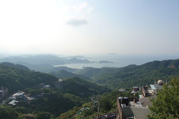 Jiufen Tagesausflug von Taipeh Bilder von der Hinfahrt