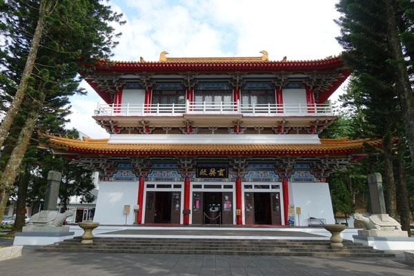 Sonne Mond See Xuanzang Tempel