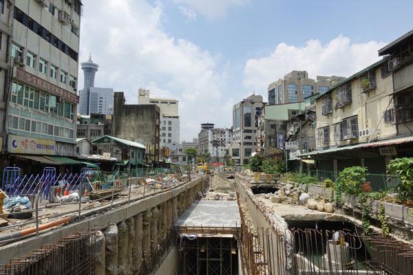 Taichung Sehenswürdigkeiten Bahnhofsviertel