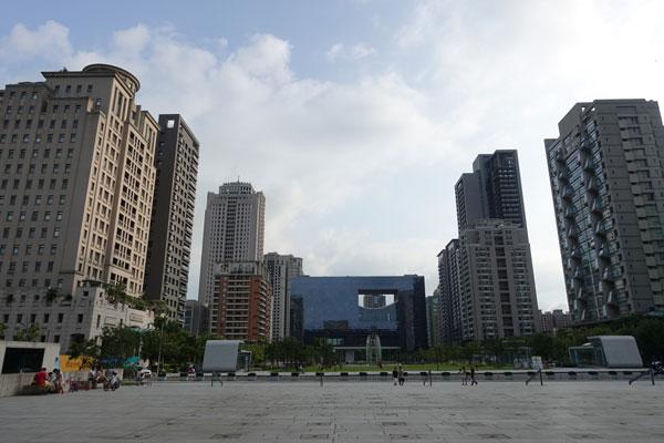 Taichung Sehenswürdigkeiten Stadtbild