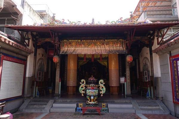 Tainan Sehenswürdigkeiten Beiji Tempel