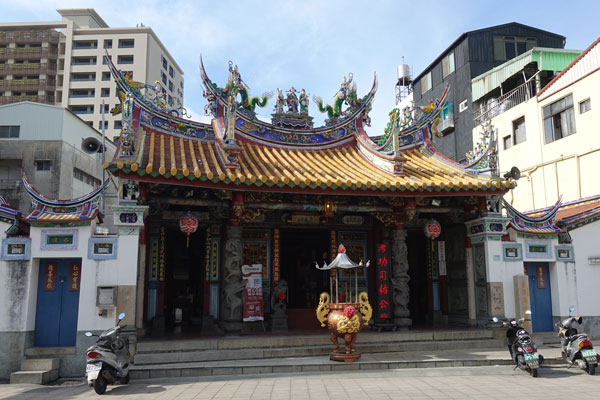 Tainan Sehenswürdigkeiten Cheng Huang City God Tempel