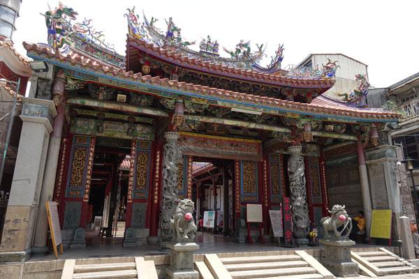 Tainan Sehenswürdigkeiten Grand Mazu Tempel