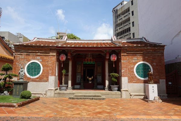 Tainan Sehenswürdigkeiten Koxinga Ancestral Shrine