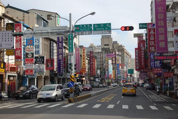 Tainan Sehenswürdigkeiten Stadtbild