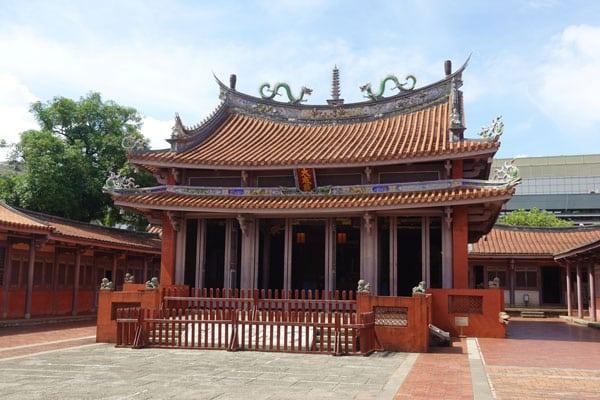 Tainan Sehenswürdigkeiten Tainan Confucius Tempel